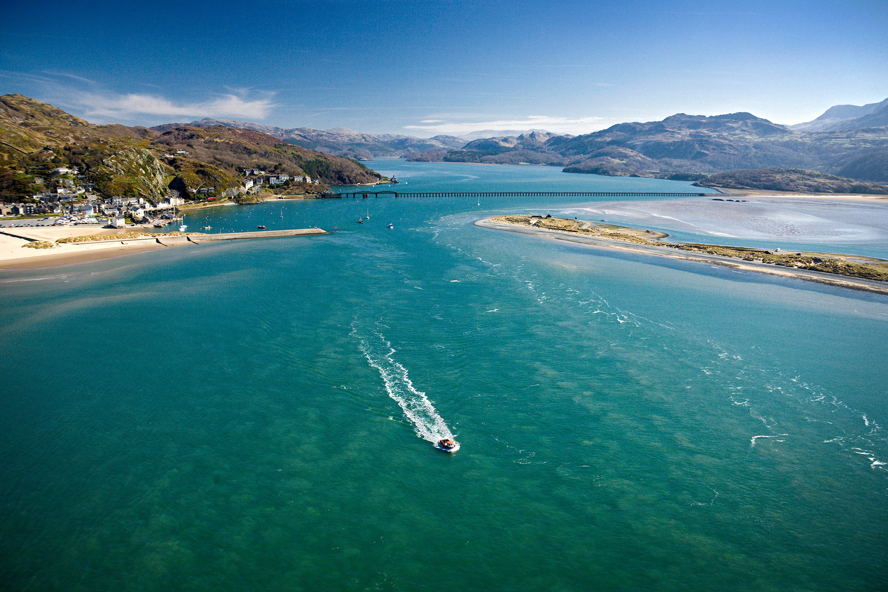 Mawddach Estuary, Snowdonia, Wales | Visit Wales | Crown Media Copyright